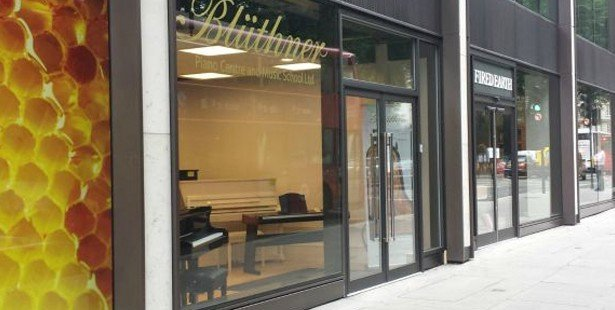 Blüthner Pianos West End Relocation
